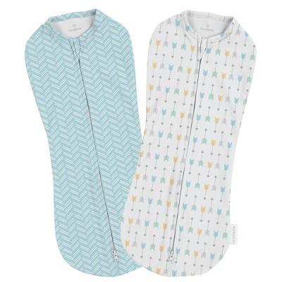 SwaddleMe Pod 2pk - Tiny Arrows (Newborn 0-2 months)