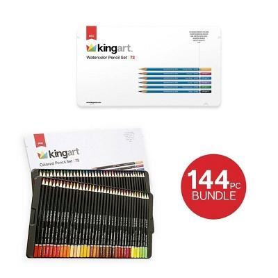 Kingart 144ct Pencil Bundle