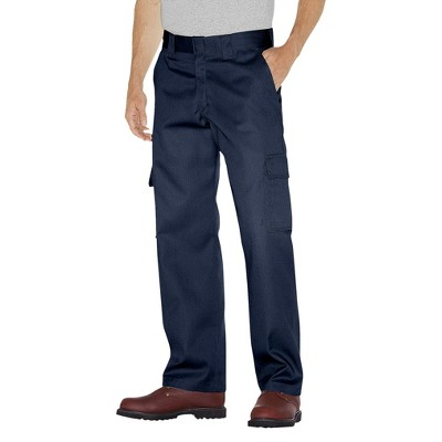 Dickies Men's Big & Tall Relaxed Fit Straight Leg Cargo Work Pants