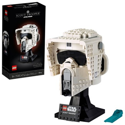 LEGO Star Wars Scout Trooper Helmet Building Set 75305