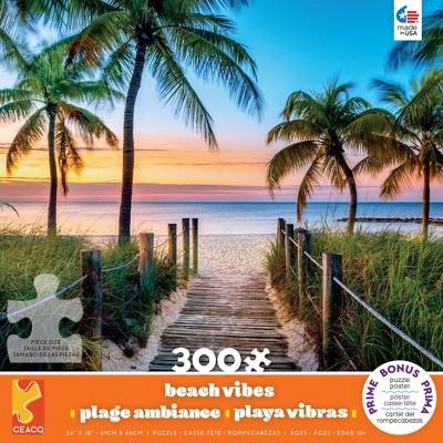 Ceaco Boardwalk Key West Jigsaw Puzzle - 300pc