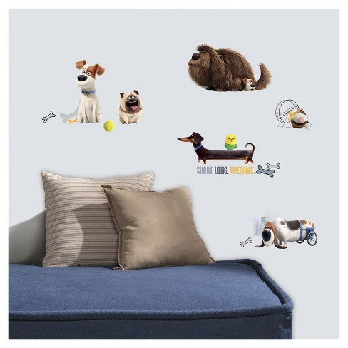 The Secret Life of Pets Boys' Wall Decals - image 1 of 1