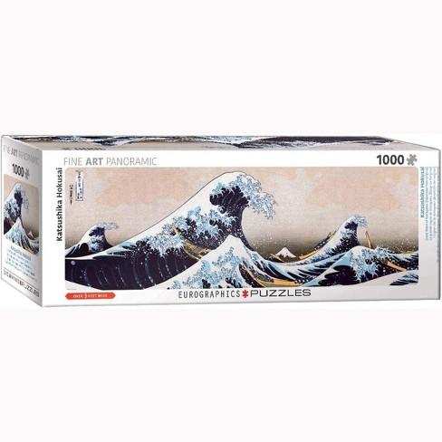 Eurographics Inc. Great Wave of Kanagawa 1000 Piece Jigsaw Puzzle - image 1 of 4