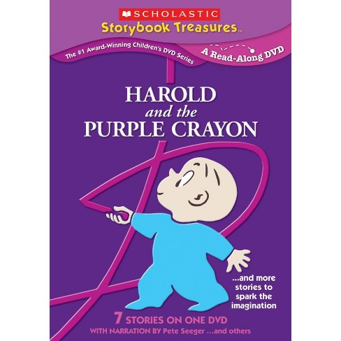 Harold and the Purple Crayon: And More Stories That Spark the Imagination (Scholastic Storybook - image 1 of 1