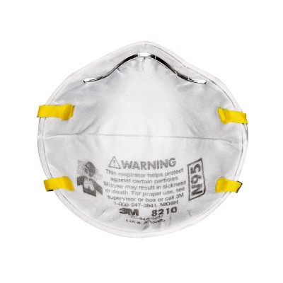 3M Company 2pk Paint & Sanding Respirator N95 Medical Mask