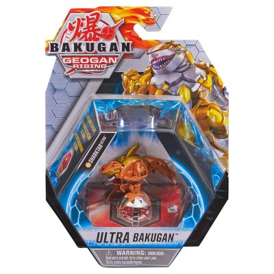 Bakugan Ultra Sharktar 3in Collectible Action Figure and Trading Card