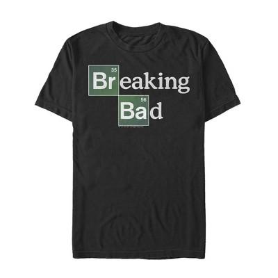 Men's Breaking Bad Periodic Table Logo T-Shirt