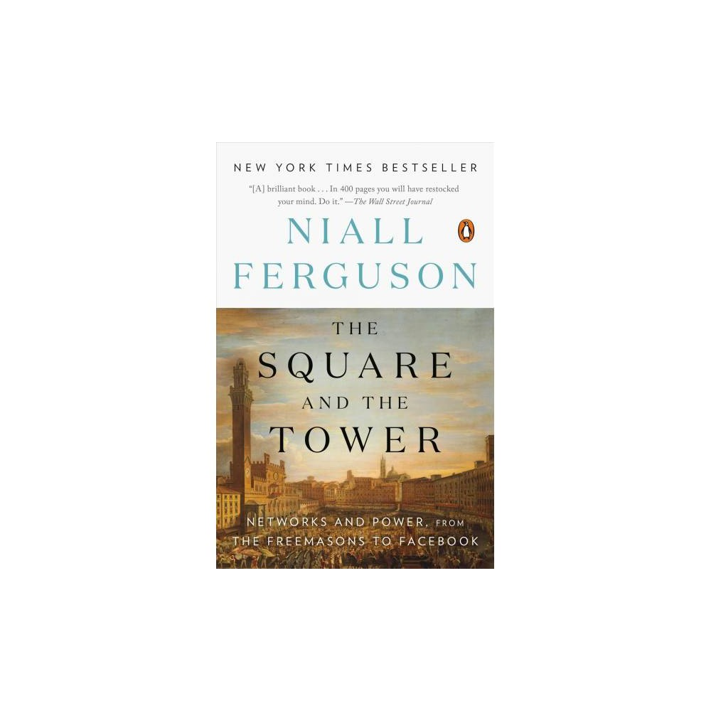 Square and the Tower : Networks and Power, from the Freemasons to Facebook - Reprint (Paperback)