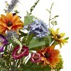 Nearly Natural Spring Garden Floral with Vase - image 2 of 3