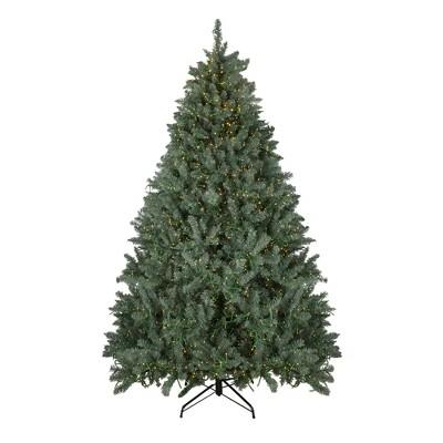 Northlight 7.5' Prelit Artificial Christmas Tree LED Grande Spruce - Dual Color Lights