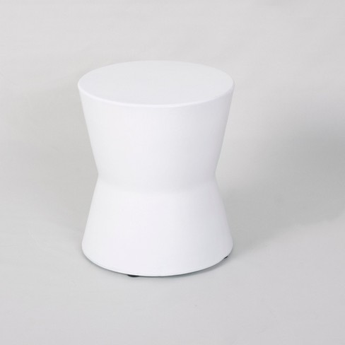 Wedge Drop Indoor/Outdoor Accent Table White - Project 62™ - image 1 of 3