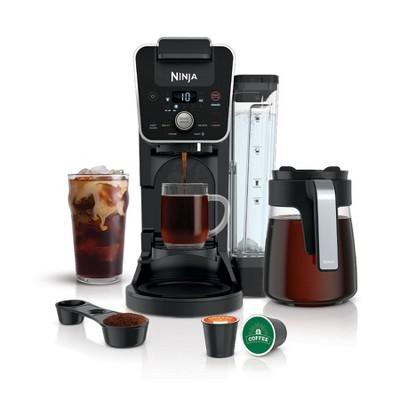Ninja DualBrew Coffee Maker, Single-Serve, Coffee Pod, and 12-Cup Drip Coffee Maker - CFP201