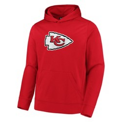 NFL Kansas City Chiefs Men's Linear Stripe Performance Hoodie