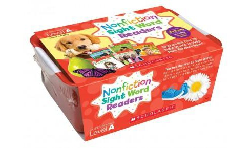 Nonfiction Sight Word Readers Classroom Tub, Level A, Grades PreK-1 : Teaches the First 25 Sight Words - image 1 of 1