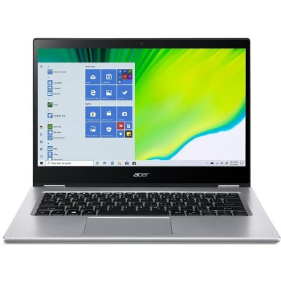 """Acer Spin 3 - 14"""" Laptop Intel Core i7-1065G7 1.3GHz 8GB Ram 512GB SSD Win10Home - Manufacturer Refurbished"""