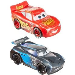 Disney Pixar Cars Turbo Racers 2pk - Lightning McQueen & Jackson Storm