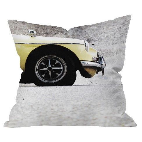 Yellow Throw Pillow - Deny Designs® - image 1 of 1