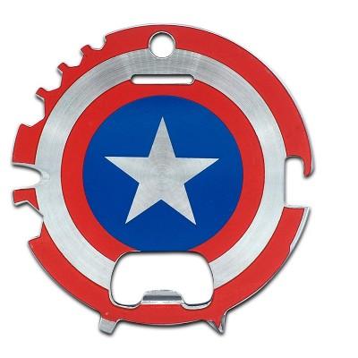 Robe Factory LLC Marvel Captain America 7-In-1 Multitool Kit