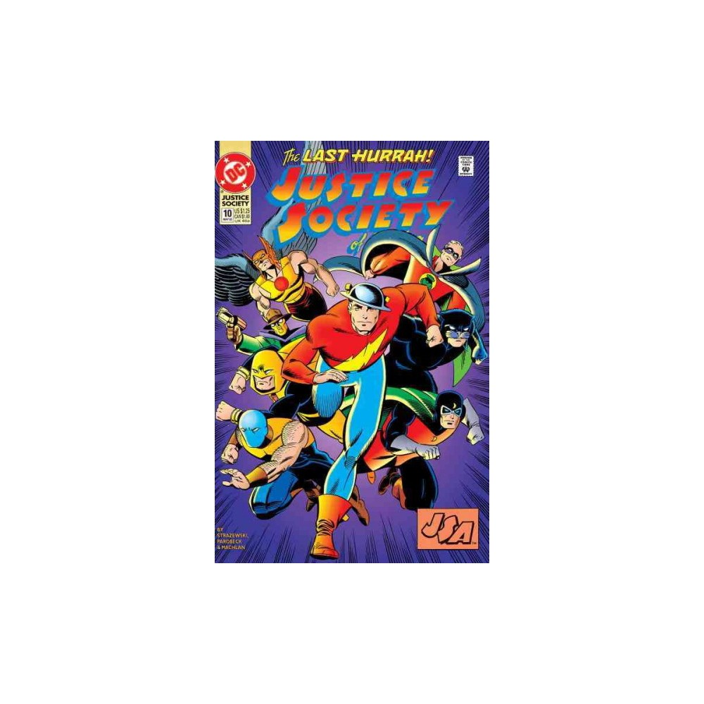 Justice Society of America : The Complete 1992 Series - by Len Strazewski (Paperback)