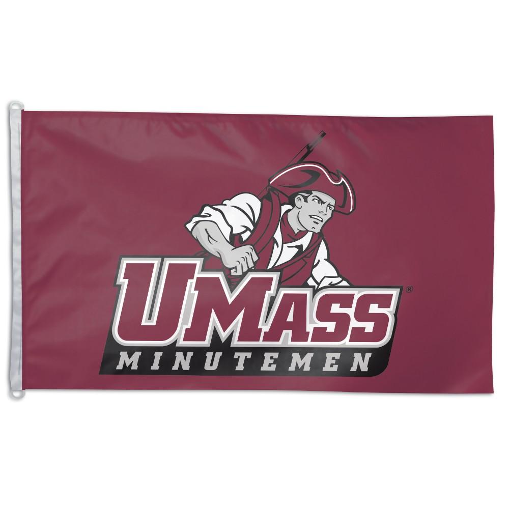 NCAA UMass Minutemen 3x5' Flag