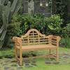 Lutyens Teak Bench - Cambridge Casual - image 2 of 4
