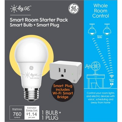 General Electric LED Bulb Bundle with Plug