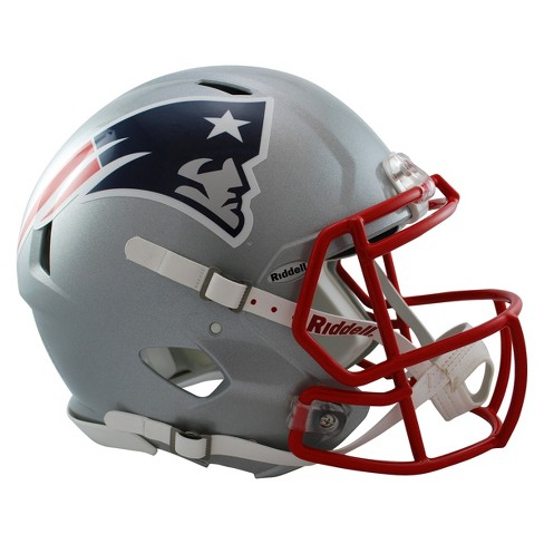 d1ce7059bc0 New England Patriots Riddell Speed Authentic Helmet - Silver   Target
