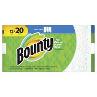 Deals on 36CT Bounty Select-A-Size Paper Towels Mega Rolls + $15 GC