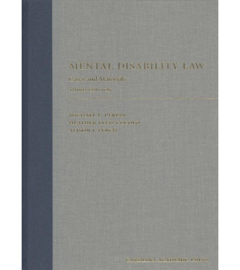 Mental Disability Law : Cases and Materials (Hardcover) (Michael L. Perlin & Heather Ellis Cucolo & - image 1 of 1