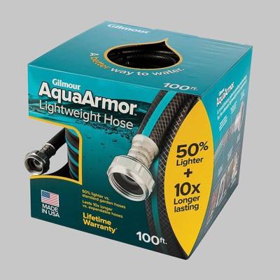 Gilmour 100' AquaArmor Lightweight Hose