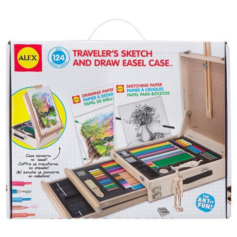 ALEX Toys Artist Studio Traveler's Sketch and Draw Easel Case - image 1 of 7
