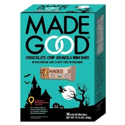 MadeGood Organic Mini Chocolate Chip Granola Bars - 36ct