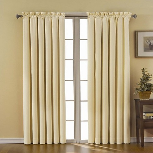 "Eclipse Thermaback Canova Blackout Curtain Panel - Ivory (42""x63"") - image 1 of 3"