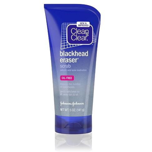 Clean & Clear Blackhead Eraser Facial Scrub with Salicylic Acid - 5oz - image 1 of 8
