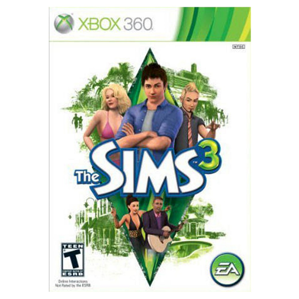 The Sims 3 Xbox 360, Video Games Create an entirely new world with The Sims 3 (Xbox 360) - Electronic Arts. The game works for Xbox 360 consoles. The simulation video game is recommended for ages 13 and up.