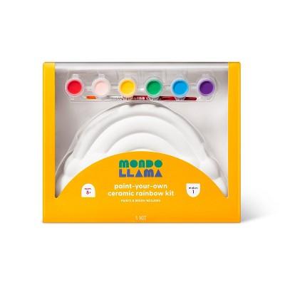 Paint-Your-Own Ceramic Rainbow Kit - Mondo Llama™