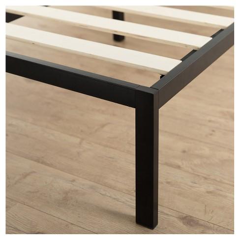 be16c285a602a Modern Studio Metal Platform Bed 1500 - Black - Zinus   Target