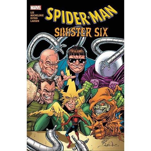 Spider-Man: Sinister Six - (Paperback) - image 1 of 1