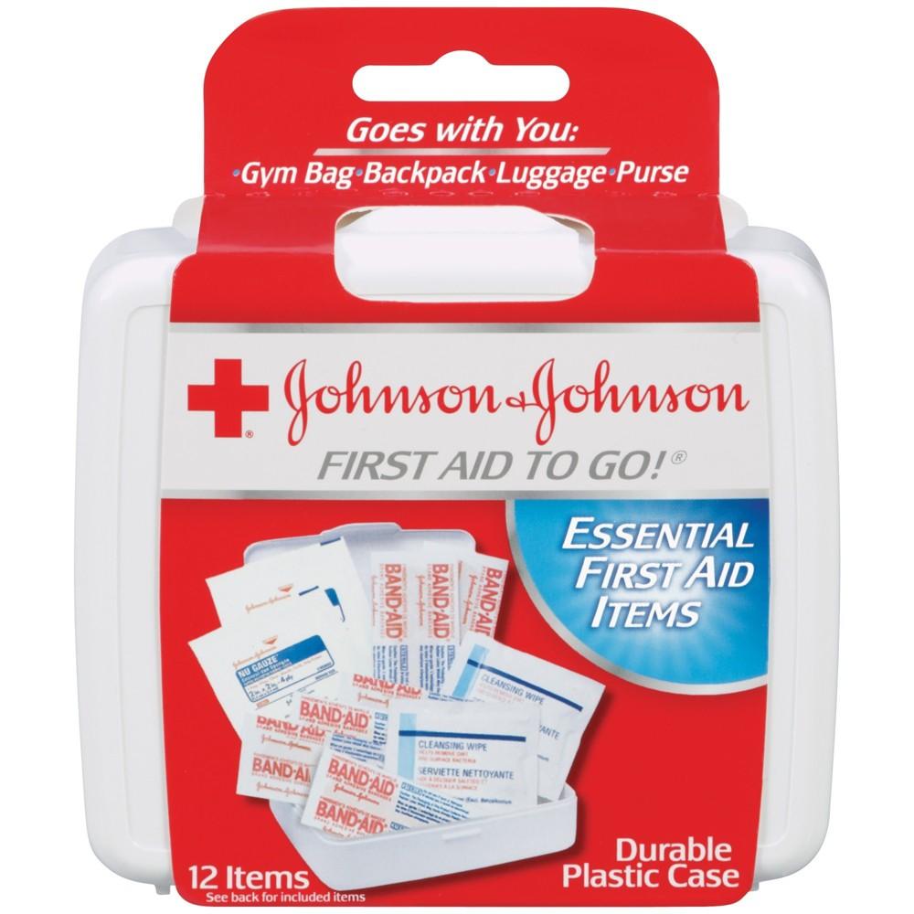 Johnson & Johnson Essential First aid Items - 12ct