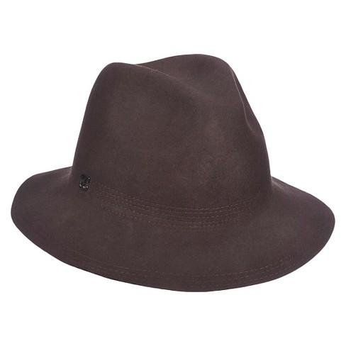 23a198cae1b Women s Wool Felt Stitched Brim Panama Hat - Callanan™   Target