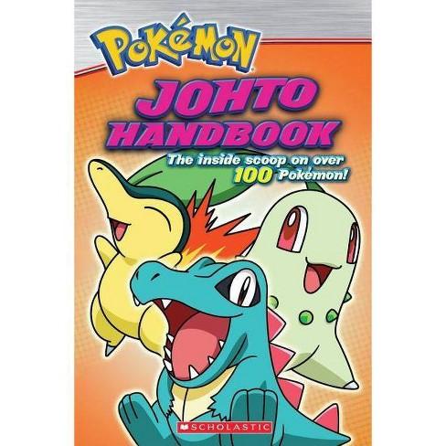 Pokemon: Johto Handbook - (Pokemon (Scholastic)) by  Scholastic (Paperback) - image 1 of 1
