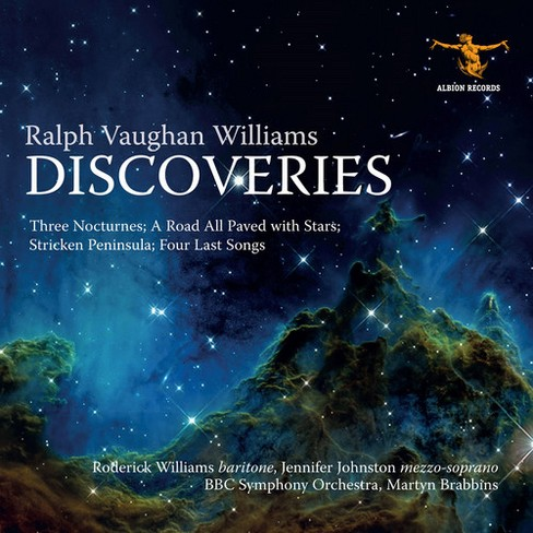 Roderick Williams - Vaughan Williams:Discoveries (CD) - image 1 of 1