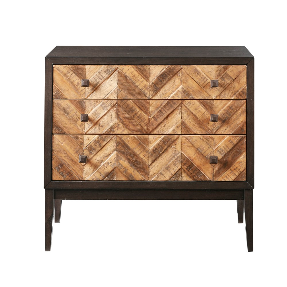 Judkin Accent Chest with 3 Drawers Brown