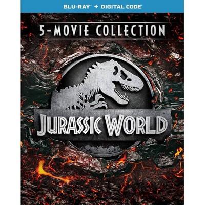Jurassic World 5-Movie Collection (Blu-ray)