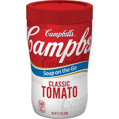 Campbell's® Soup on the Go Classic Tomato - 11.1oz - image 1 of 5