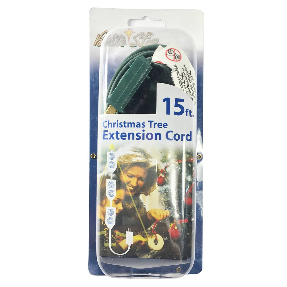 Image of 15' Indoor 9 Outlet Extension Cord - Brite Star