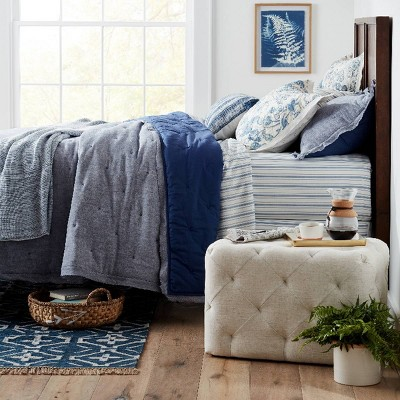 Traditional Blue Spring Bedroom Ideas Collection Target