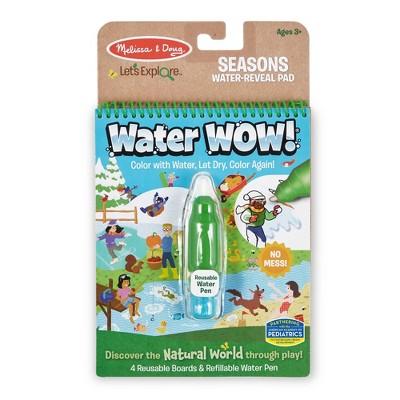 Melissa & Doug Let's Explore Water Wow! Seasons Water-Reveal Pad