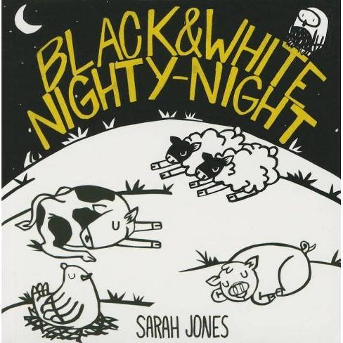 Black and White Nighty-Night - (Roygbaby) by  Sarah Jones (Board_book) - image 1 of 1