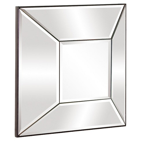 Square Stephen Decorative Wall Mirror Silver - Howard Elliott - image 1 of 1
